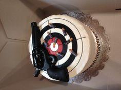 Ammo Cake-bullets as border.
