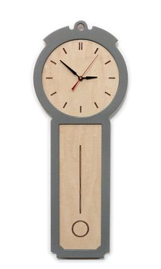 kitchen wall clock - the colonial - chic modern wood wall clock