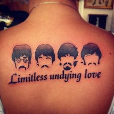 Beatles tattoo - Limitless undying love