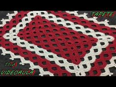 TAPETE ARCOS #LUIZADELUGH - YouTube Crochet Rug Patterns, Crochet Symbols, C2c Crochet, Doily Patterns, Crochet Videos, Crochet Home, Love Crochet, Crochet Designs, Crochet Doilies