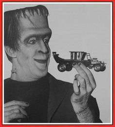 Herman Munster and the Munster Koach