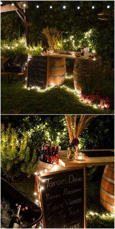 A Cool Wine Barrel Bar