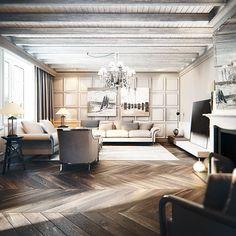 Fabulous apartment in Kiev | Daily Dream Decor