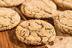 We have a lot of talented bakers in my family, but my particular weakness has always been my Grandpa's simple recipe for Molasses Ginger Cookies. These cookies have always been my favorite even beating out…