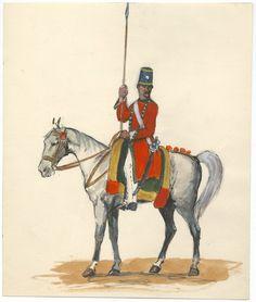 British; Bengal Army, Rohilla Horse, Sowar, 1817