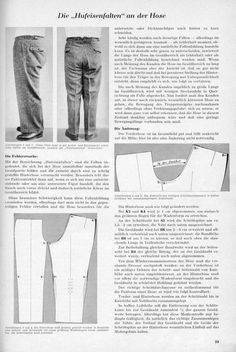 Trouser Fitting - Horseshoe Folds - The Basic Apprentices' Forum - The Cutter and Tailor Sewing Pants, Sewing Clothes, Sewing Box, Clothing Patterns, Sewing Patterns, Pattern Draping, Sewing Alterations, Sewing School, Sewing Lessons
