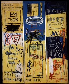 View Charles The First by Jean-Michel Basquiat on artnet. Browse more artworks Jean-Michel Basquiat from Guy Hepner. Jean Michel Basquiat Art, Jm Basquiat, Basquiat Artist, Graffiti Art, Sgraffito, African American Artist, American Artists, Charles The First, Jeff Koons