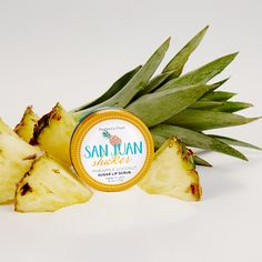 Perfect your pucker with San Juan Shaker. Sugar tinged with exotic pineapple and coconut exfoliate, while shea butter moisturizes your mouth. Smooth generously and rub to reveal supple, sexy lips. Lick or wipe off the excess sugar, and enjoy your supple smoocher! Flavor: Exotic pineapple and coconut #SoftLips #PerfectlyPosh #Kisses #Beauty #Natural