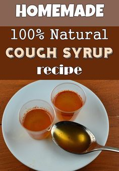 100% natural cough syrup recipe - TheBeautyMania.net Cough Remedies, Herbal Remedies, Health Remedies, Health Heal, Health Diet, Health And Wellness, Homemade Cough Syrup, Homemade Tea, Healthy Drinks