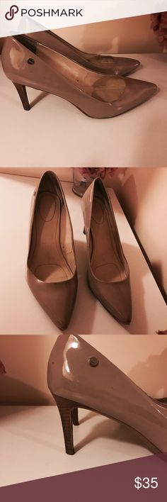 Calvin Klein heels Used a couple times but in excellent shape Calvin Klein Shoes Heels