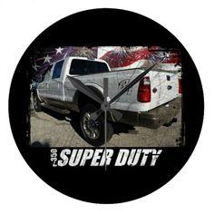 2013 F-350 Super Duty SuperCrew King Ranch 4x4 Large Clock