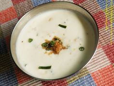 Inji Thayir - Yogurt with Ginger - Onam Sadya Recipe