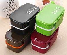 Cheap oven machine, Buy Quality oven kitchen directly from China kitchen mixer Suppliers: Eco-friendly Japan Style Double Tier Bento Lunch Box PP Cute Meal