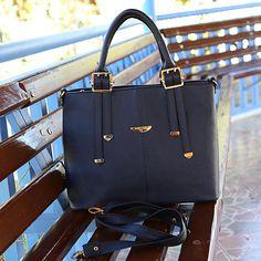 Lacivert Günlük Çanta - Ayakkabı Çanta Dükkanı Bags, Fashion, Handbags, Moda, Fashion Styles, Fashion Illustrations, Bag, Totes, Hand Bags