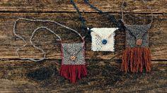 Medicine Pouch pattern by Veronika Jobe Pouch Pattern, Free Pattern, Knitting Patterns, Crochet Patterns, Medicine Bag, Pattern Library, Crochet Purses, Yarn Crafts, Leather Craft