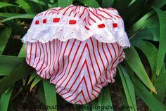 Tutorial y patrones descargables para hacer un vestido y un cubrepañal de bebé en tres tallas.