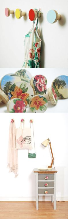 so cute! doorknobs. via SanFranciscoGirlbyBay