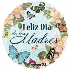 """18"""" Botanical Feliz Dia De Las Madres"""