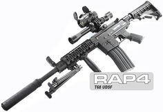 RAP4 T68 UDSF Sniper Paintball Gun. SO going to shoot one when I actually have LAND!