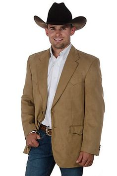 Crown Clothing Rust Microfiber Jacket Possible Jacket for Nate and Nancys wedding Mens Western Jackets, Western Sport Coat, Western Suits, Western Wear, Western Cowboy, Western Style, Prom For Guys, Black Tie Attire, Cowboy Boot Outfits