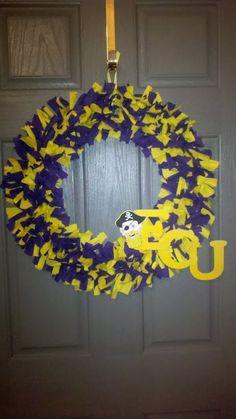 ECU wreath