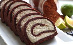 Raw Cocoa Vanilla Swiss Roll [Vegan, Gluten-Free] | One Green Planet