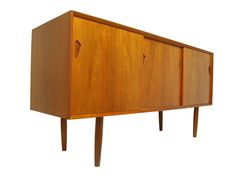 Mid Century Rosewood Credenza, Drinks Cabinet by A H Mcintosh. Vintage. MCM