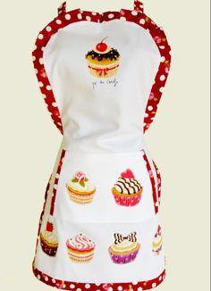 Avental Cupcakes https://www.facebook.com/pedecereja2014