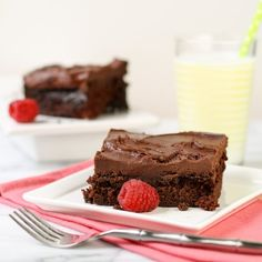 Classic Chocolate Cake just like mom used to make.