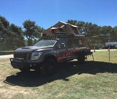 Whos ready to go camping? #nissan #titan #basecamp #txtruckrodeo #tawa #txautowriters #drivetx