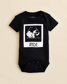 Sara Kety Infant Unisex #tbt Bodysuit - Sizes 0-18 Months | Bloomingdale's