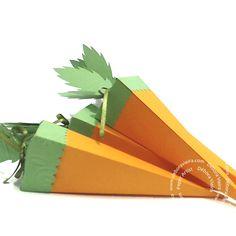 Cenoura porta Docinhos Paper Box Template, Silhouette, Templates, Outdoor Decor, Carrot, Candy, Stencils, Vorlage, Models