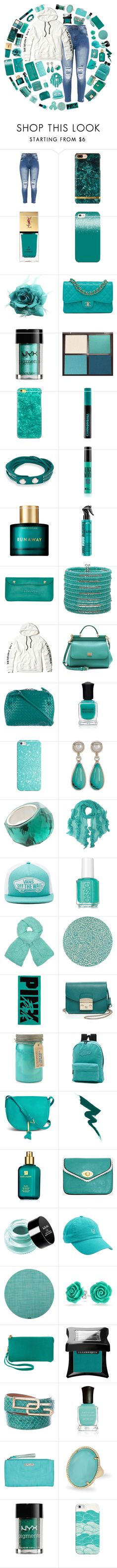 """""""Untitled #309"""" by isabellefashion23 ❤ liked on Polyvore featuring Yves Saint Laurent, Casetify, Chanel, NYX, Tom Ford, Urban Decay, Swarovski, Karen Walker, ESCADA and Mixit"""