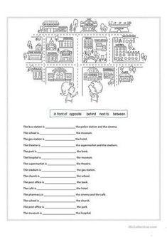 Prepositions of place worksheet - Free ESL printable worksheets made by teachers
