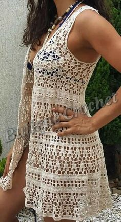 Image may contain: one or more people, people standing and outdoor Crochet Jacket, Crochet Cardigan, Crochet Yarn, Knit Crochet, Basic Crochet Stitches, Crochet Patterns, Crochet Bathing Suits, Knit Vest Pattern, Crochet Summer Tops