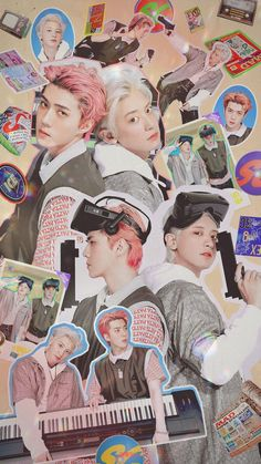 Kpop Exo, Exo Chanyeol, K Pop, Sehun Cute, Exo Lockscreen, Exo Fan Art, View Wallpaper, Kpop Posters, Z Cam
