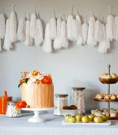DIY Yarn Tassel Garland - Confetti Pop