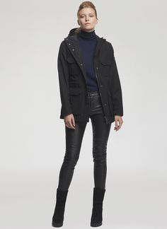 Penfield.com | Wmns Kasson Black Jacket