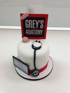Grey's Anatomy Cake!