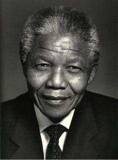 Nelson Mandela ~ Portraits by Yousuf Karsh