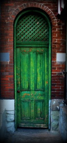 Arched door in Pittsburgh