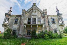 Castelul de la Uioara Medieval Castle, Mansions, History, House Styles, Home Decor, Brick, Castles, Architecture, Historia
