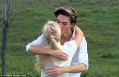Good to see you!Union J star George Shelley looked delighted to see Hollyoaks beauty Jorg...