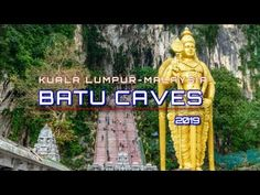 Batu Caves, one of Kuala Lumpur's most frequented tourist attractions, is a limestone hill comprising three major caves and a number of smaller ones.The cave. Batu Caves, Lord Murugan, Hindu Festivals, Kuala Lumpur, Places To Visit, Youtube, Youtubers, Youtube Movies