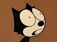 Felix the Cat, 1959 Good Cartoons, Vintage Cartoons, Classic Cartoons, Trash Art, Psy Art, Felix The Cats, Bendy And The Ink Machine, Aesthetic Gif, Happy Fun