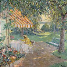 Edward Cucuel - Summer On Lake Starnberg