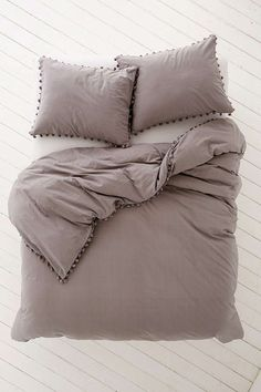 Magical Thinking Pom-Fringe Duvet Cover - Urban Outfitters #duvetcovers
