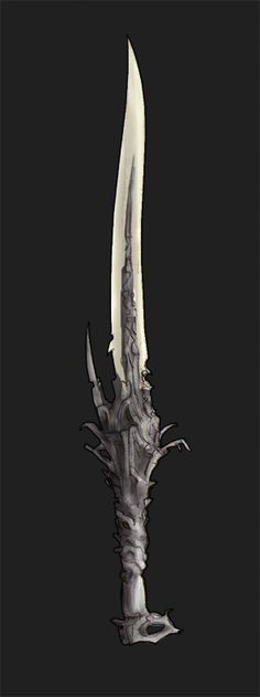TO spikey.the crossgaurd would impale your hand and the pomel is to spikey as well. Fantasy Blade, Fantasy Weapons, Fantasy Dagger, Swords And Daggers, Knives And Swords, Katana, Rpg Horror, Rpg Dice, Cool Swords
