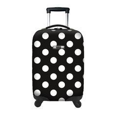 Modena Suitcase in Polka Dots
