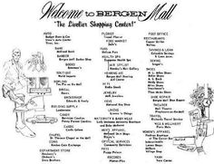 Paramus ~ List of original stores. Jersey Girl, New Jersey, Mall Stores, Bergen County, My Youth, Vintage Advertisements, Budgeting, Nostalgia, My Life